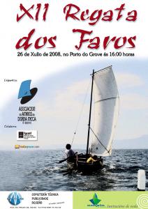 Cartaz da XII Regata dos Faros