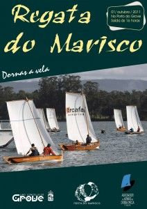 Cartaz da Regata do Marisco de 2011.