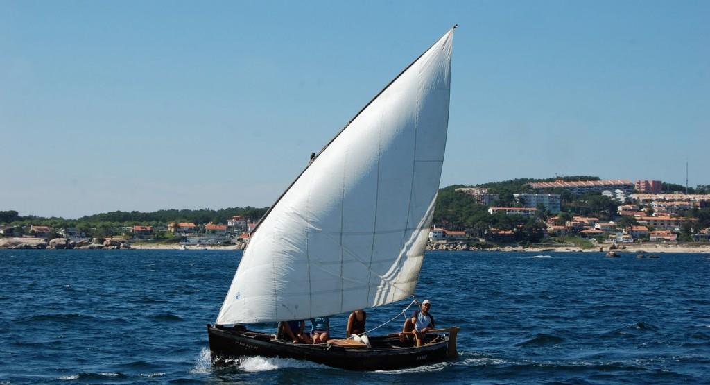 O Rakú navegando en San Vicente.