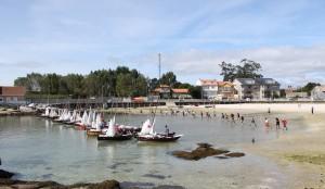 Saida da Regata do Porto de Meloxo do 2013.